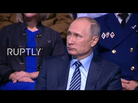 LIVE: Putin takes part in All- Russian Popular Front meeting in Moscow