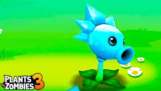 Plants vs. Zombies 3 - Gameplay Walkthrough Part 38  - Snow Pea VS Gargantuar BOSS !