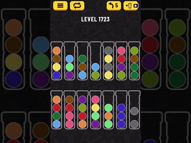 Ball Sort Puzzle】Level.1723 - YouTube
