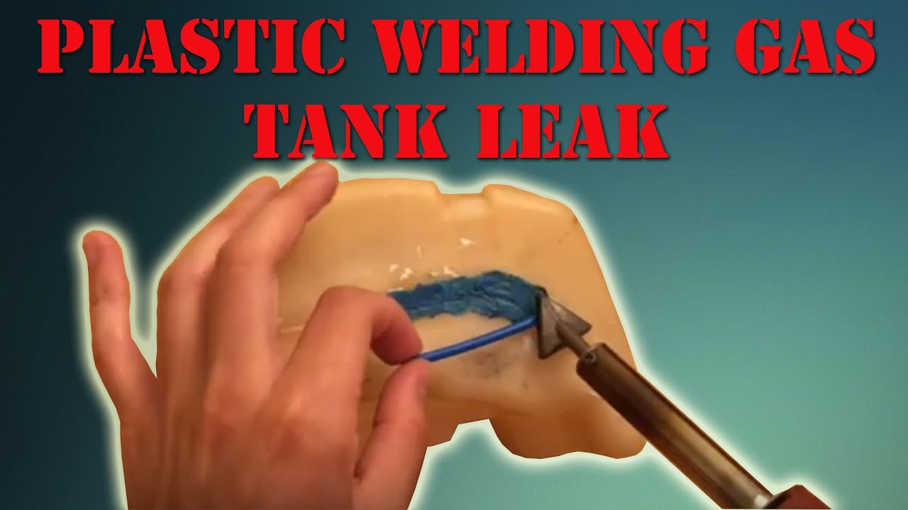 How To Plastic Weld Gas Tank Leak The Gamefisher Series Youtube