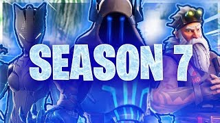 FORTNITE-THE NEW BATTLE PASS 🔥 SEASON 7 IS THE BEST! (WINTER MAP, PLANES, EPIC SKINS) 😱
