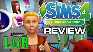 LGR - The Sims 4 Kids Room Stuff Review