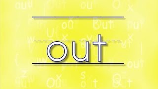The OUT Song | Sing & Spell Sight Words!