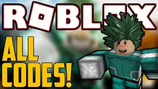 ALL 8 HEROES ONLINE CODES! (August 2019) | ROBLOX