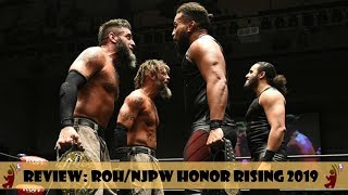 NJPW ROH GIRA HONOR RISING 2019 | REVIEW