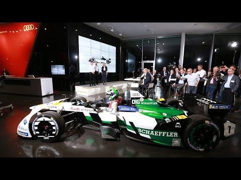 Audi Formula E Presentation - Audi e-tron FE04