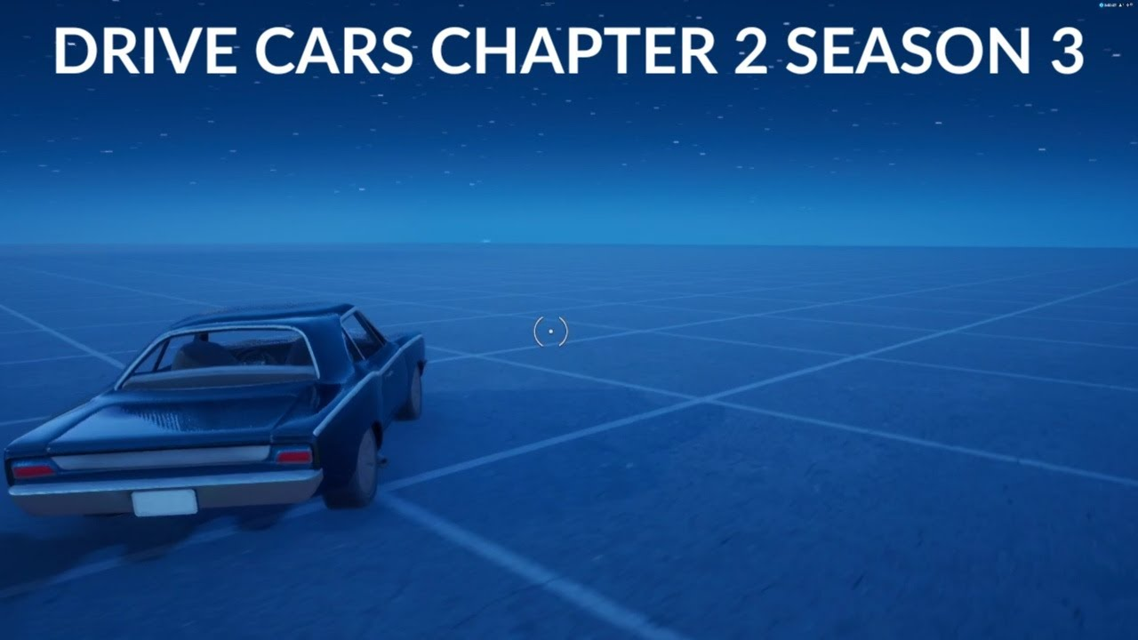 How to Drive Cars in Fortnite Chapter 2 Season 3