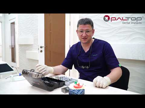 Протокол работы по установке дентальных имплантатов Paltop Dental