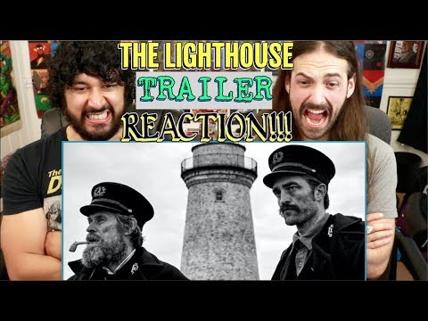 the-lighthouse-|-trailer-|-robert-pattinson,-willem-dafoe---reaction!!!