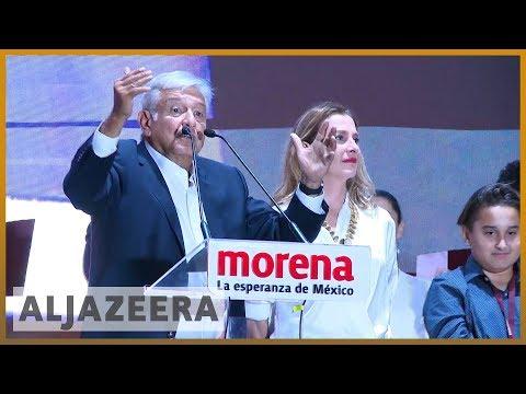 🇲🇽 Mexico election: Andres Manuel Lopez Obrador claims victory | Al Jazeera English