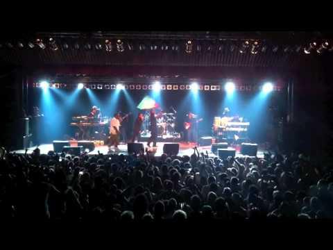 Nas & Damian Marley Nah Mean Auckland New Zealand 17 Feb 2011