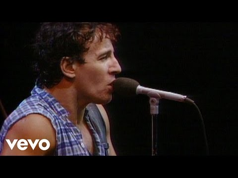 "Bruce Springsteen's official music video for ""Born To Run."""