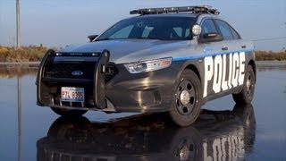 Cop for a Day in a 2013 Ford Interceptor Police Car - Wide Open Throttle Episode 38