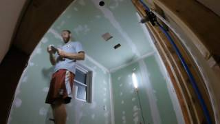 Complete small bath remodel time lapse in Austin, TX