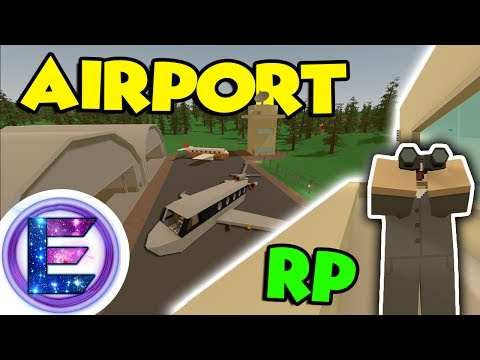 Airport RP - EMERGENCY LANDING! - Air traffic controller - Unturned RP (Funny moments)