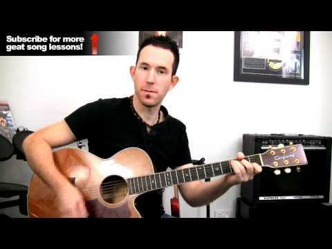 'Hey Ya' by Outkast - How to Play Easy Beginners Acoustic Guitar Lessons - Song Tutorial