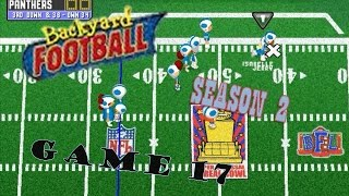 Backyard Football 1999 (PC) (SEASON 2) Game 17: Season Showdown