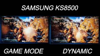 Horizon zero dawn ps4 pro on game mode vs dynamic picture modes