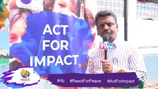 React For Peace   REACTion from Mohammadh Showkath   Act For Impact