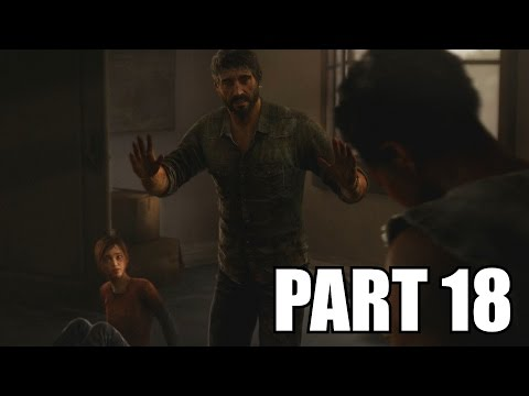 The Last of Us Remastered Grounded Walkthrough Part 18 - The Suburbs No Damage PS4