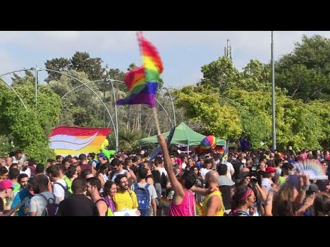 Thousands join Gay Pride parade in Jerusalem
