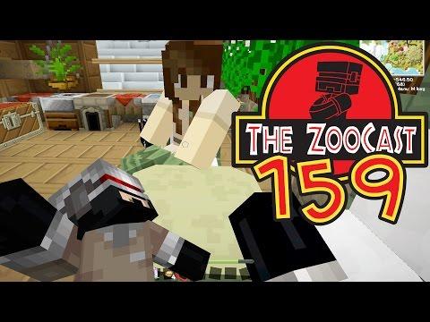Minecraft Jurassic World (Jurassic Park) ZooCast - #159 Search For Seri! [1080p 60fps]