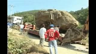 104톤 바위를 옮기다 쾅! 실화 맞습니다! jms 월명동 큰바위얼굴(104톤) 바위 이야기 - 정명석 선생 -