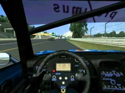 GTR2 - FIA GT RACING GAME / Gameplay - manual drive |