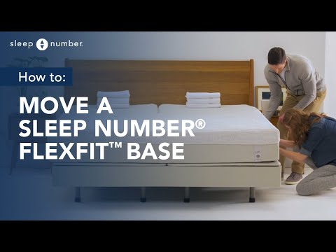 How To Move a Sleep Number 360® Smart Bed With FlexFit™ Base
