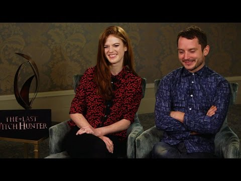 Rose Leslie and Elijah Wood interview for The Last Witch Hunter