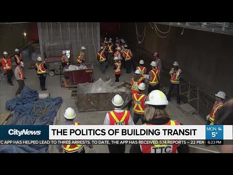 The politics of building transit