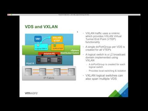 VMware NSX Switching and Routing with Tim Davis @aldtd #vBrownBag #RunNSX