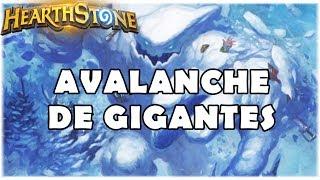 HEARTHSTONE - AVALANCHE DE GIGANTES! (STANDARD OVERLOAD SHAMAN)