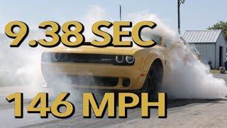 9.38 sec. @ 146 mph Hennessey Demon 1/4 Mile Test