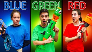 NERF Choose Your Color Challenge!