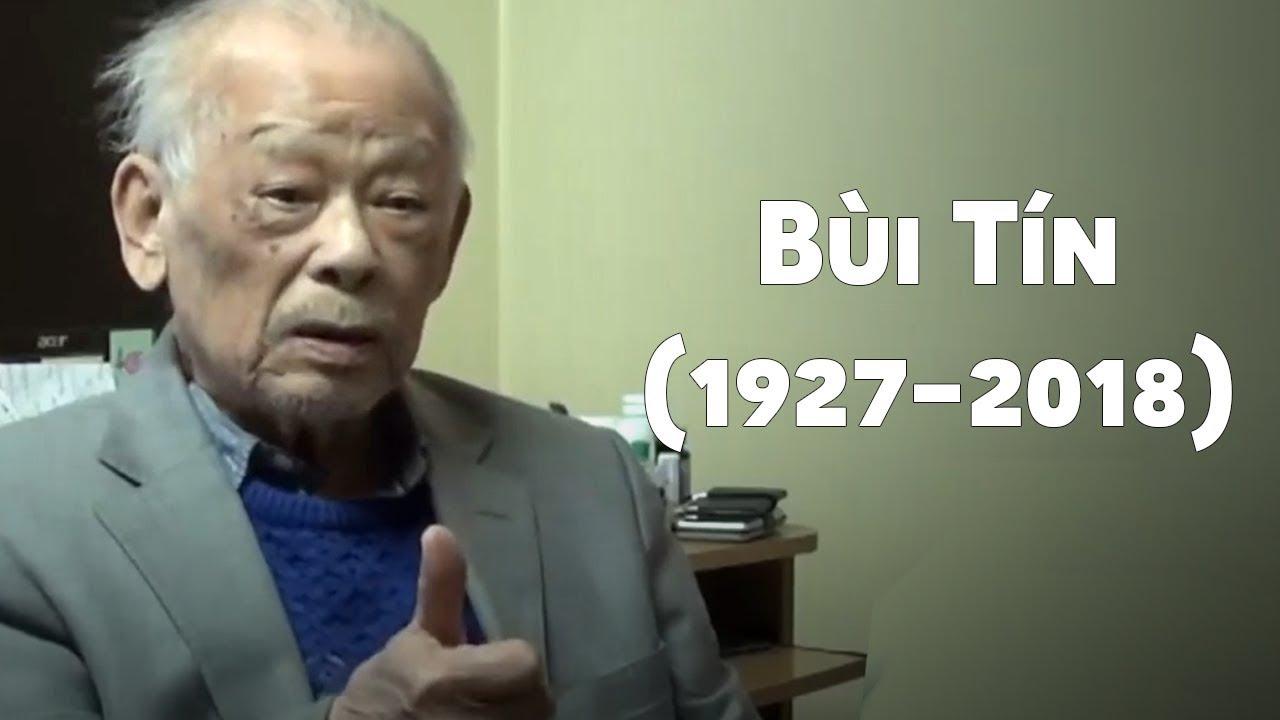 Image result for hình ông Bùi Tín