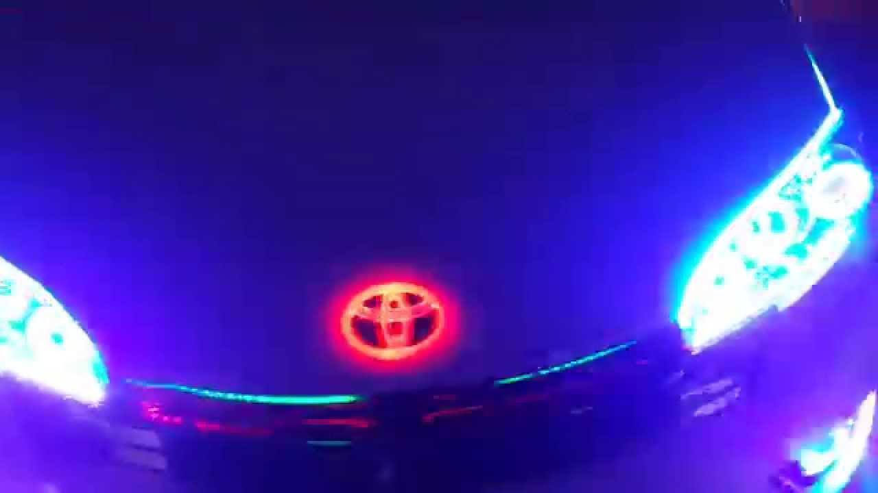 車底燈 底盤燈 水箱罩燈 氣霸燈 氣壩燈 水箱燈 保桿燈 眉燈 臺客 蹦音響 廟會 爆閃 - YouTube