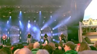 Meshuggah - New Millennium Cyanide Christ Live @ Gröna Lund 31/05/14