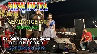 KEMBANGE ATI CAK PERCIL Cover By NURMA KDI - NEW DUTA Live GAYAM BOJONEGORO 25 FEBRUARI 2019