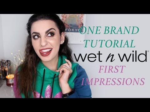 Wet n Wild: One Brand Tutorial & First Impression!