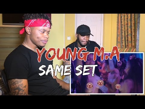 Young M.A - Same Set (Official Music Video) - REACTION