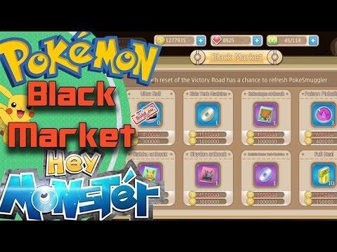 Mercado negro!! HACK, BUG o EASTER EGG?? - Hey Monster / Pokemon Remake