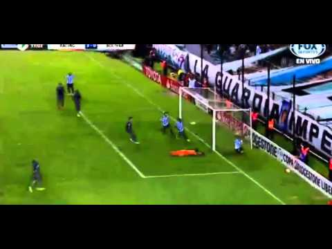 Racing jugó bien y goleó al Bolivar en el debut por la Libertadores en Avellaneda