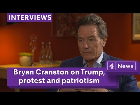 Bryan Cranston on Trump, protest, patriotism and his new film Last Flag Flying