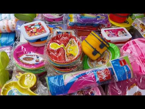 Cheapest Plastic Plates, Plastic Boxes, Lunch Boxes, Containers Market