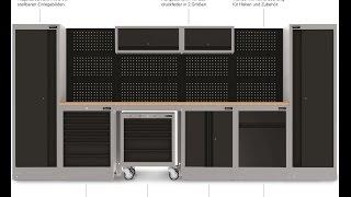 Шкаф для инструментов (шкаф инструментальный)(Шкаф для инструментов (шкаф инструментальный) модульный с разными видами крепления инструментов, с встроен..., 2016-10-30T10:59:23.000Z)