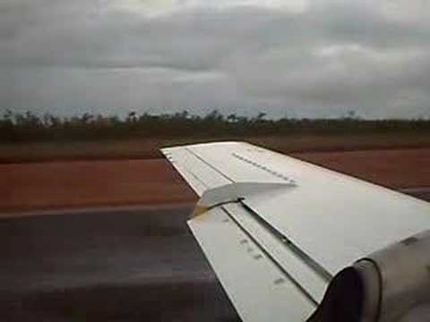 Take off from Gove airport