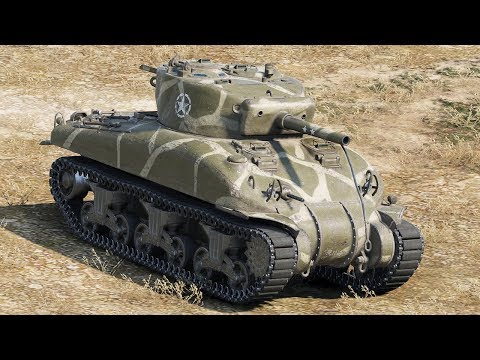 World of Tanks M4 Sherman - 8 Kills 3,1K Damage (1 VS 5)