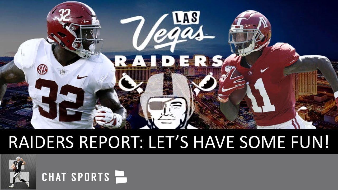 Las Vegas Raiders take the first WR off the board, Henry Ruggs III