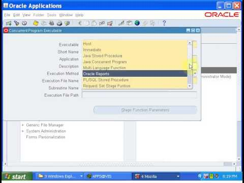 Oracle Apps Tutorial-21:In Bound Interface    Purchasing Ord